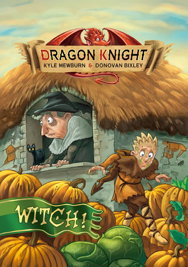 Dragon Knight - Witch!